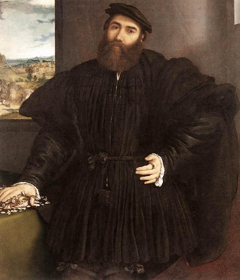 Ritratto di gentiluomo (Lotto) - Wikipedia