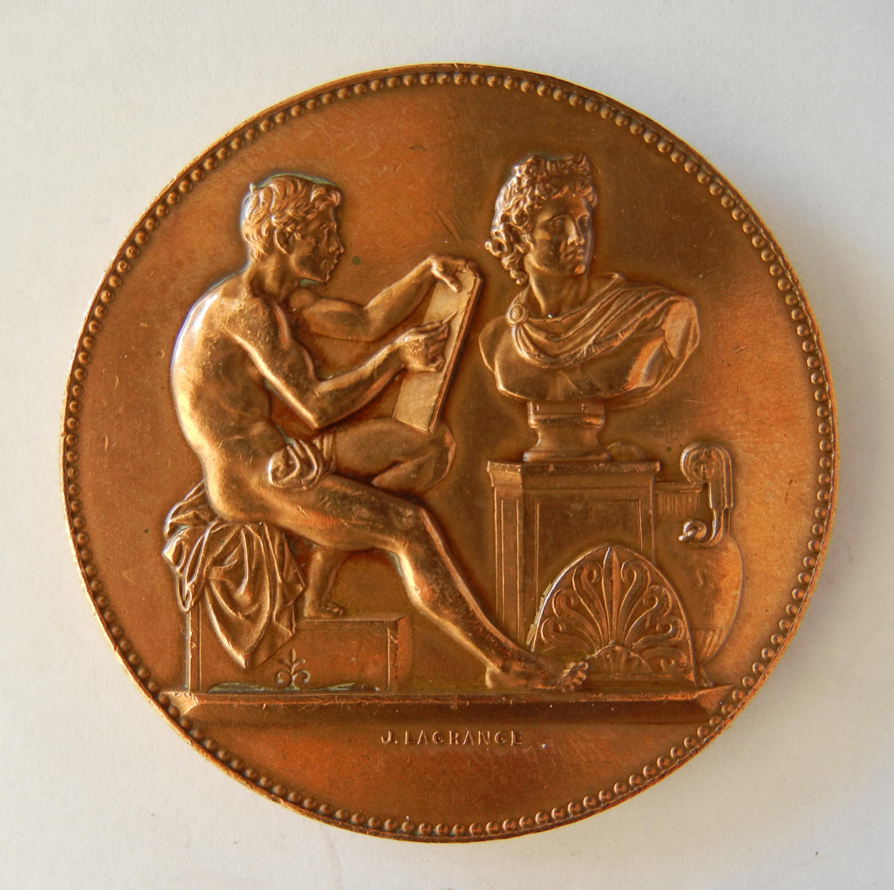 Medaille Ville Paris Offre Empereur Berceau