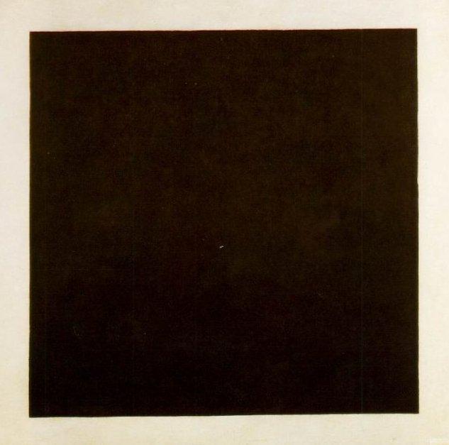 Kazimir Malevitsj, Zwart vierkant, 1913