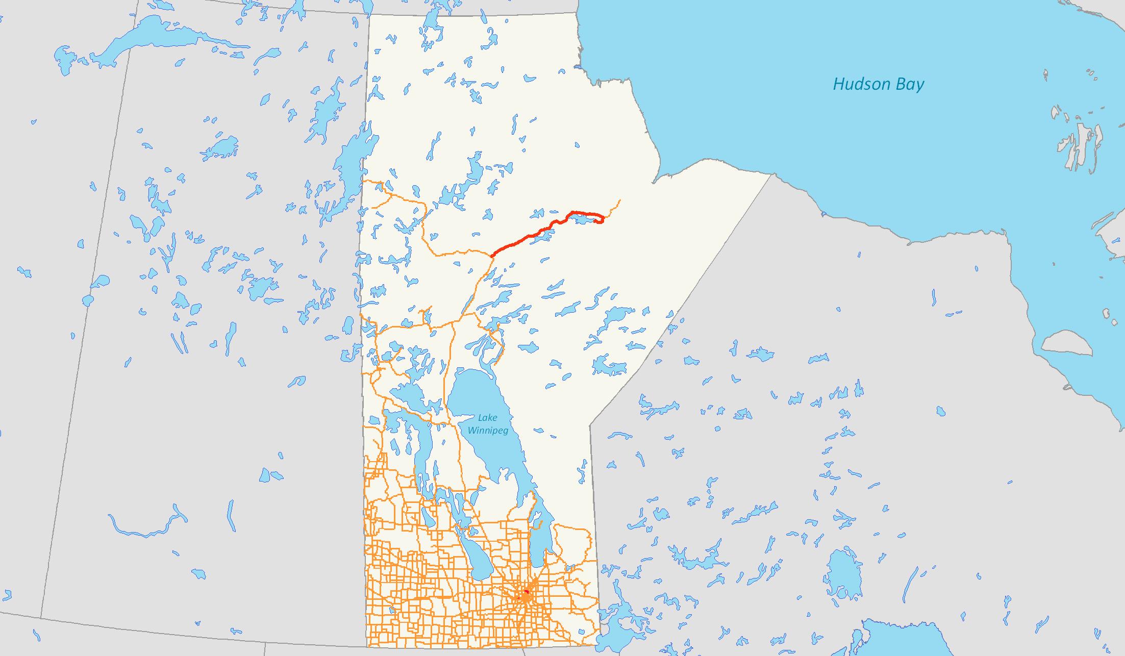 Manitoba Provincial Road 280 - Wikipedia