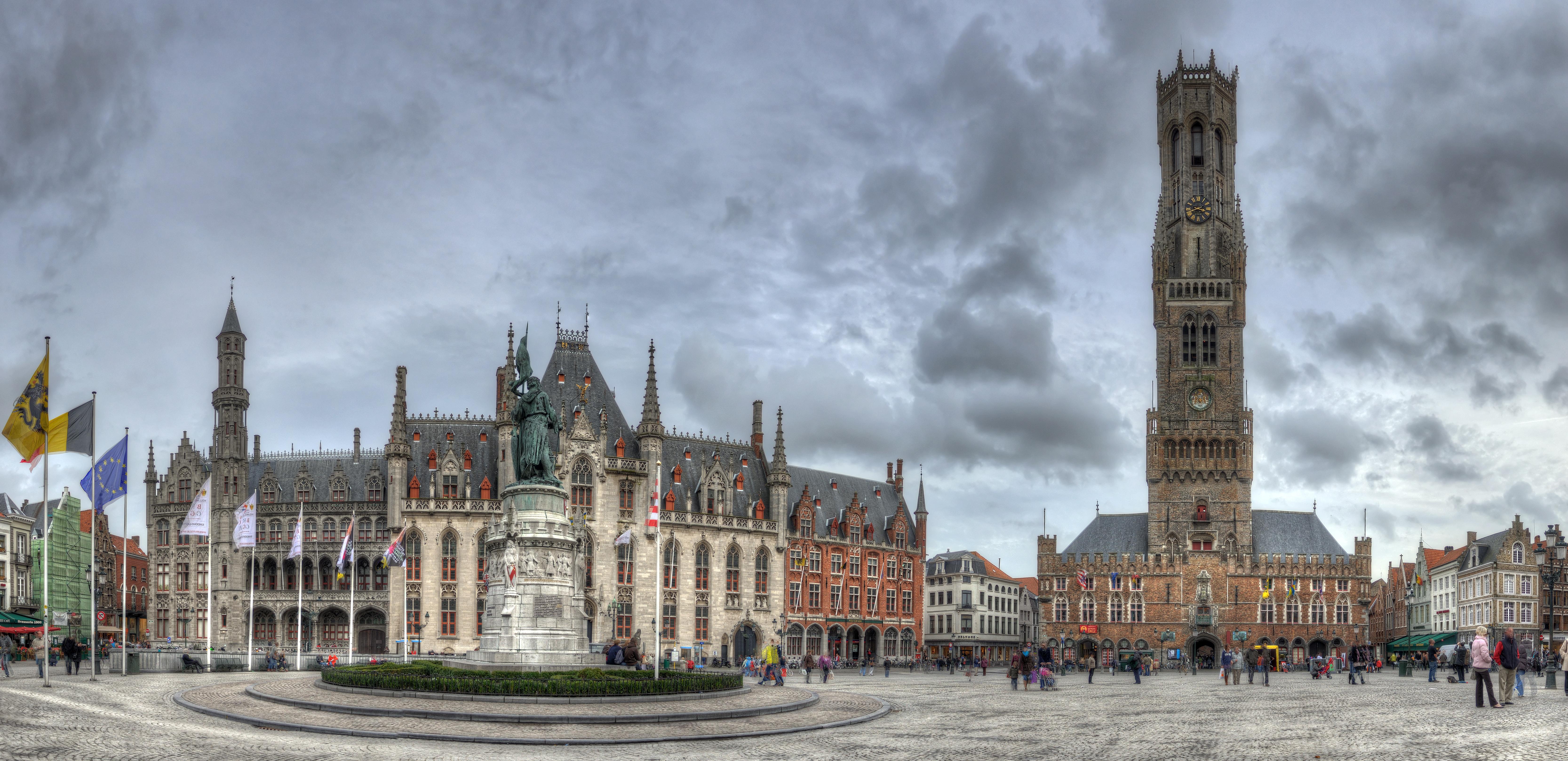 File markt brugge belgium november 2 2010 - Office du tourisme bruges belgique adresse ...