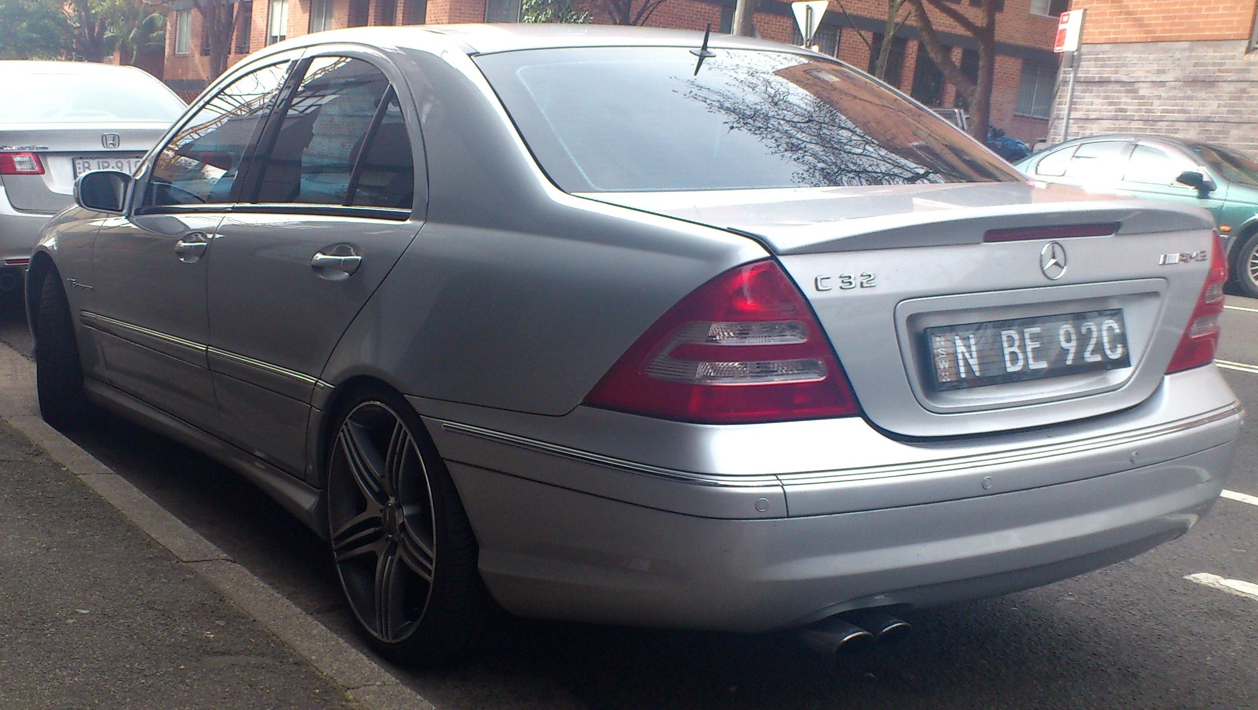 Mercedes-Benz C-Class (W203) - Wikiwand