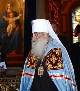 33-й Митрополит Санкт-Петербургский и Ладожский Владмир