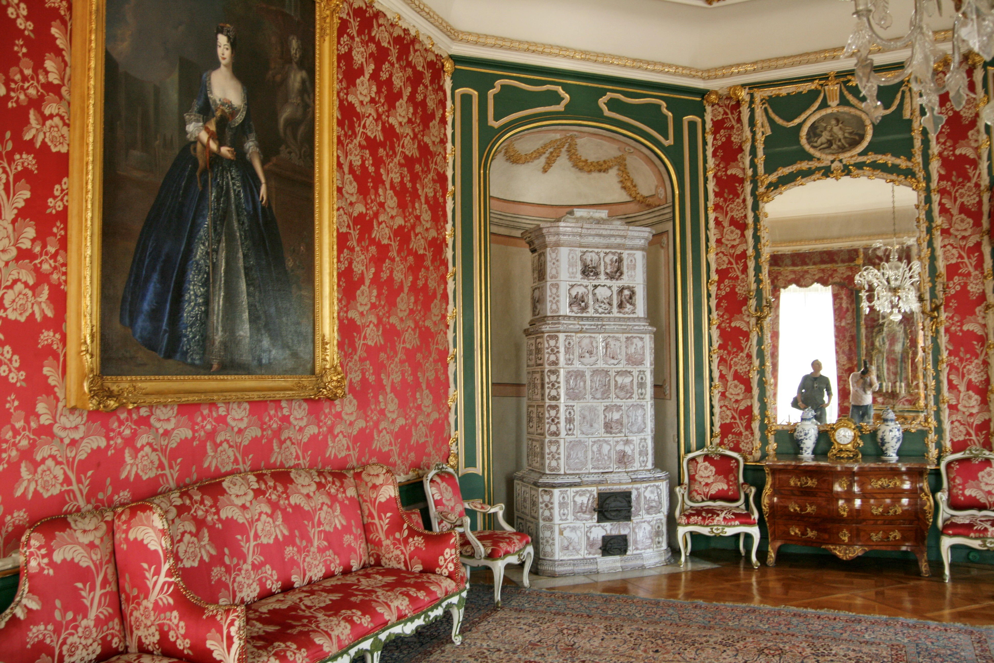 Archivo:Nieborów Palace - The Red Drawing-room-2.jpg ...