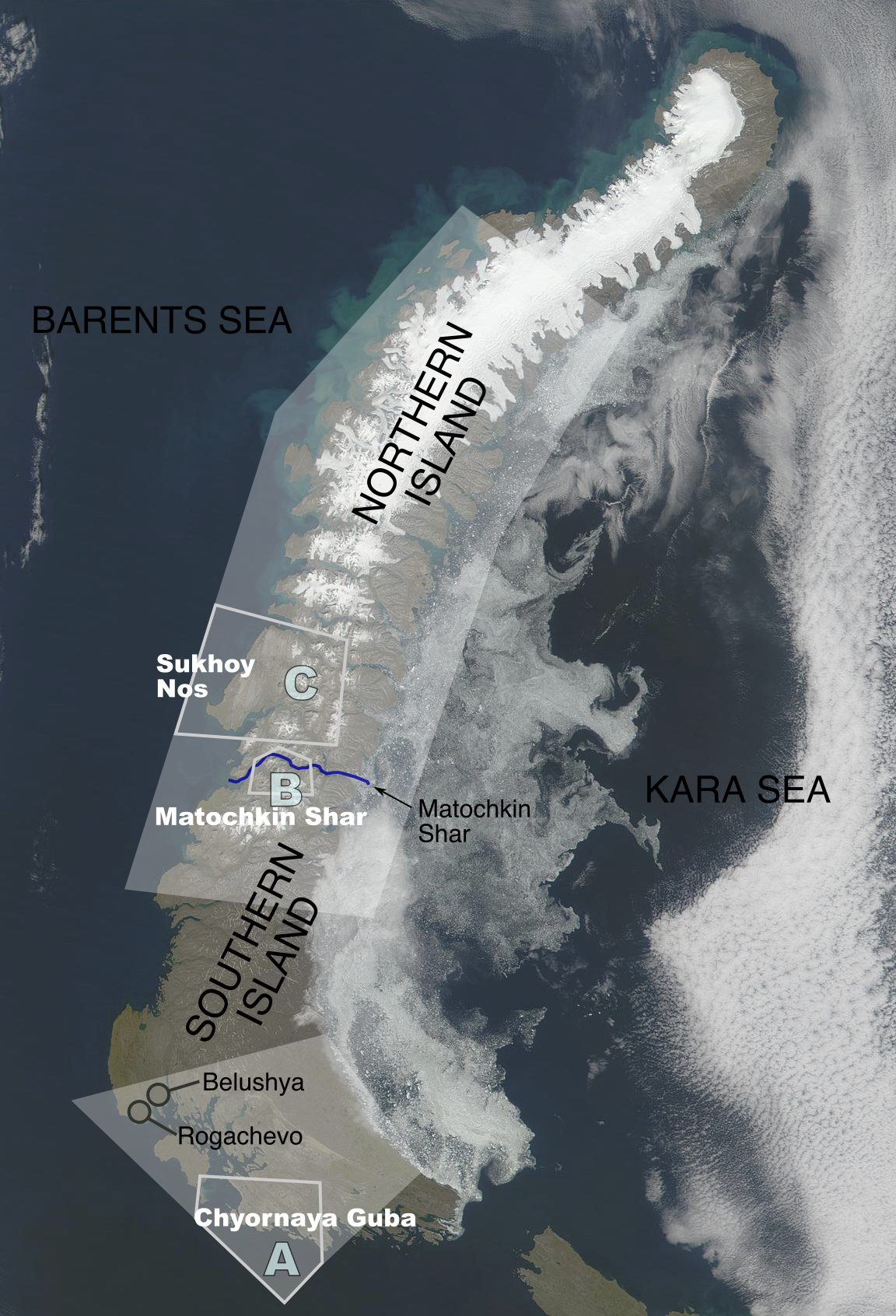 マトチキン海峡