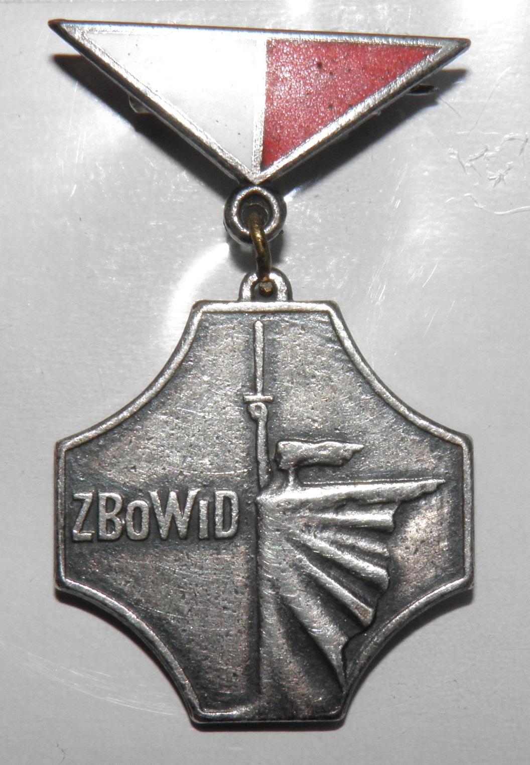 """Odznaka """"Za Zasługi dla ZBoWiD"""" – Wikipedia, wolna encyklopedia"""