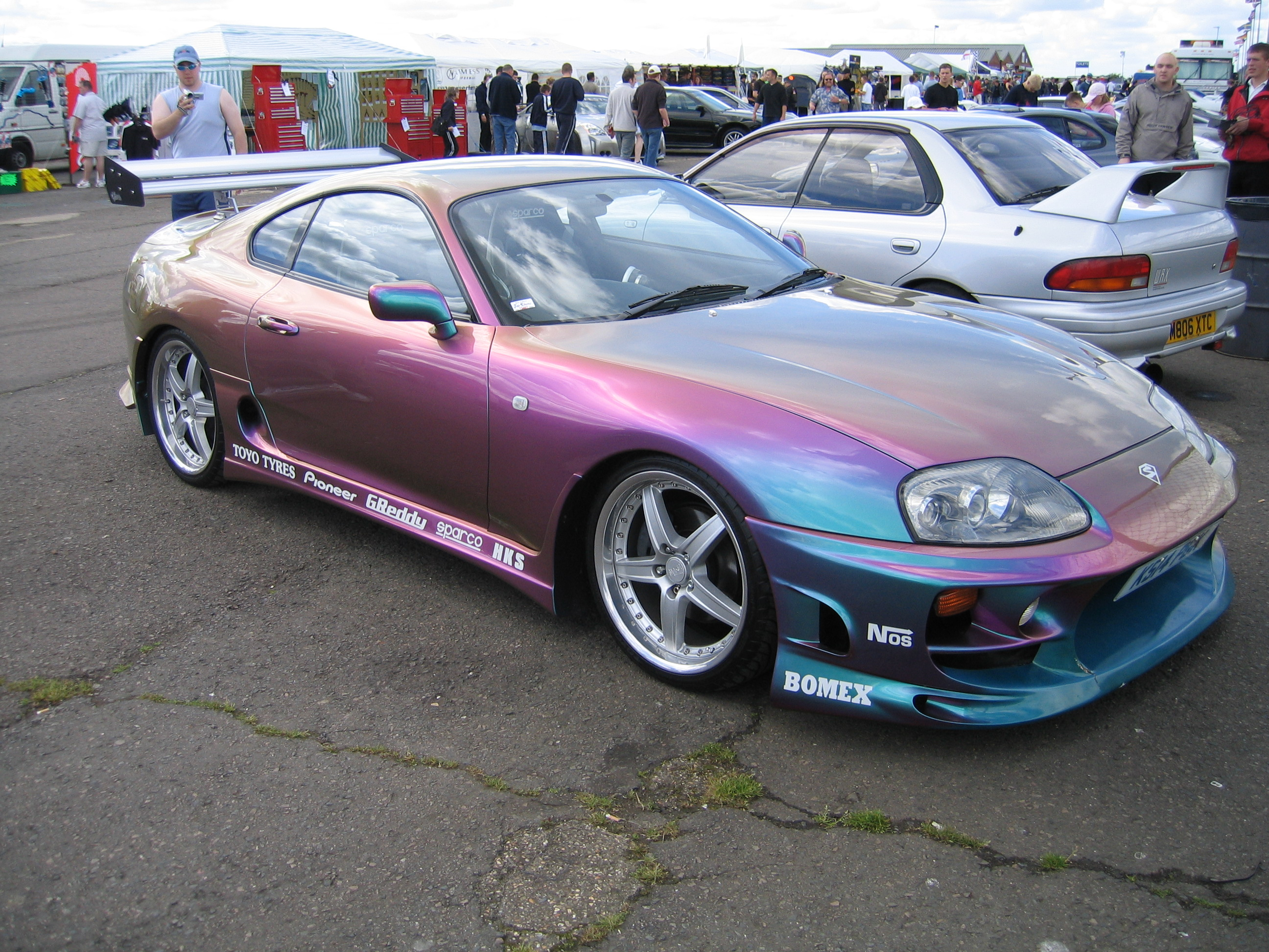 Toyota supra girl edit