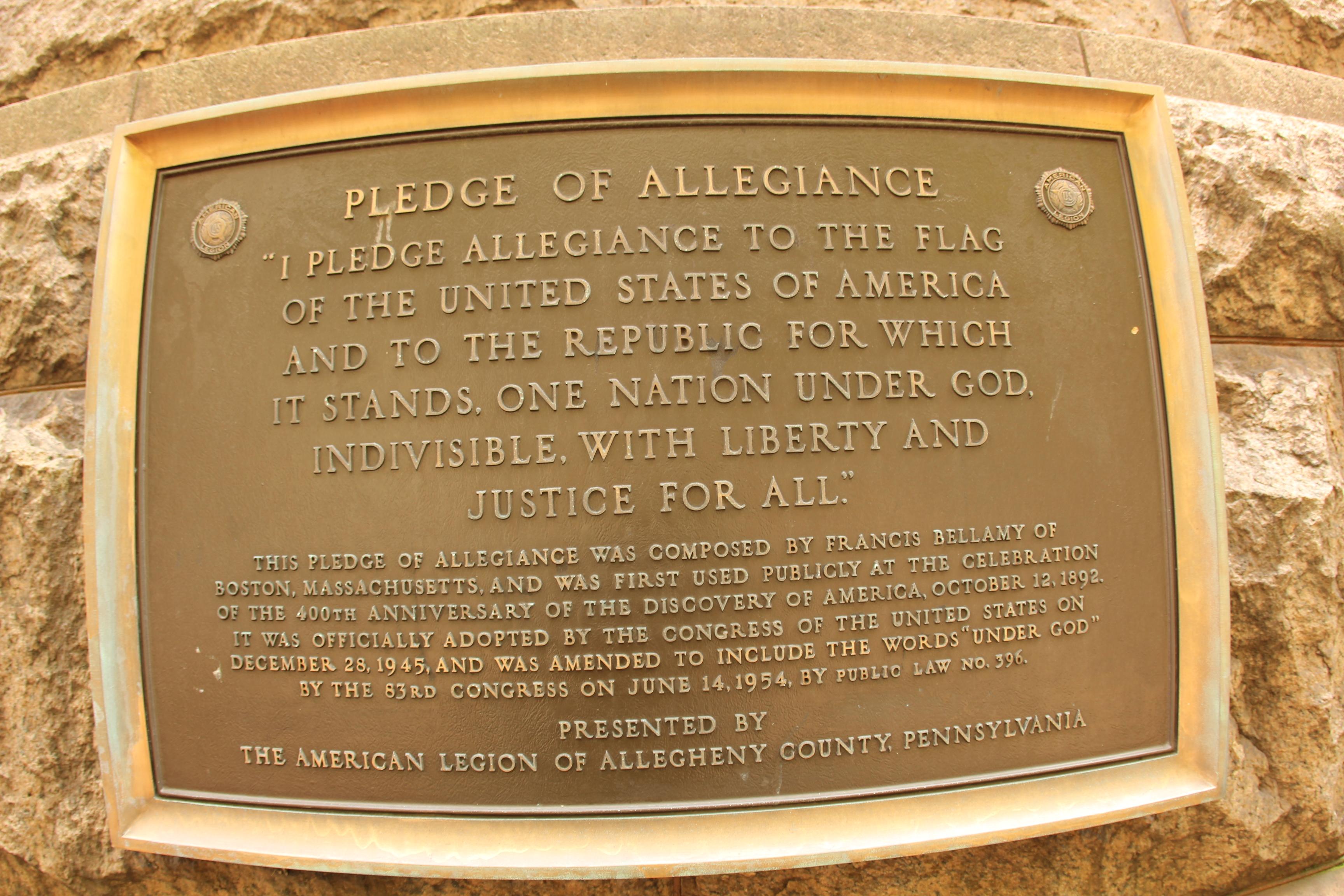 file pledge of allegiance plaque 5708570071 jpg wikimedia commons