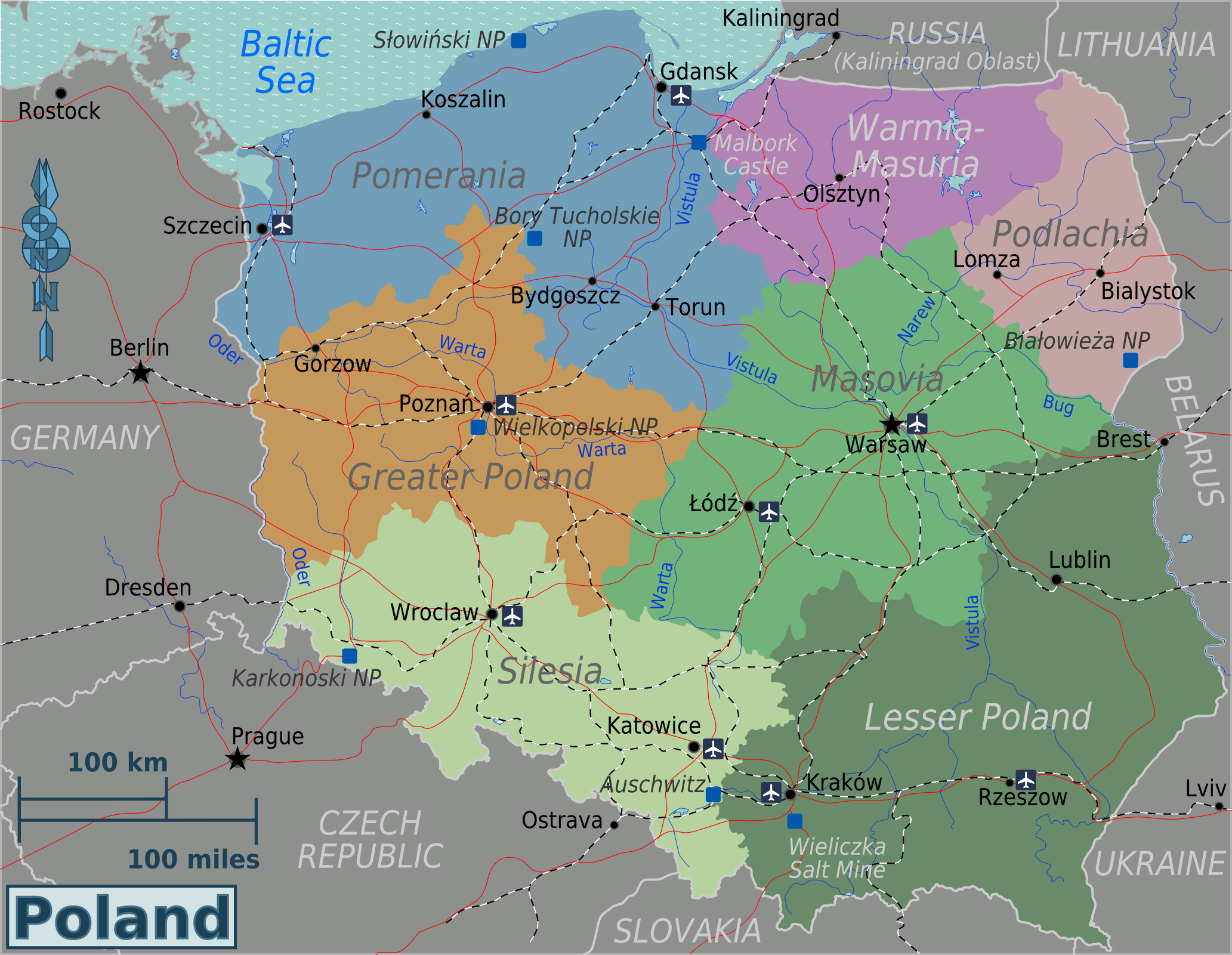 Lomza Poland Map.File Poland Regions Map Png Wikimedia Commons