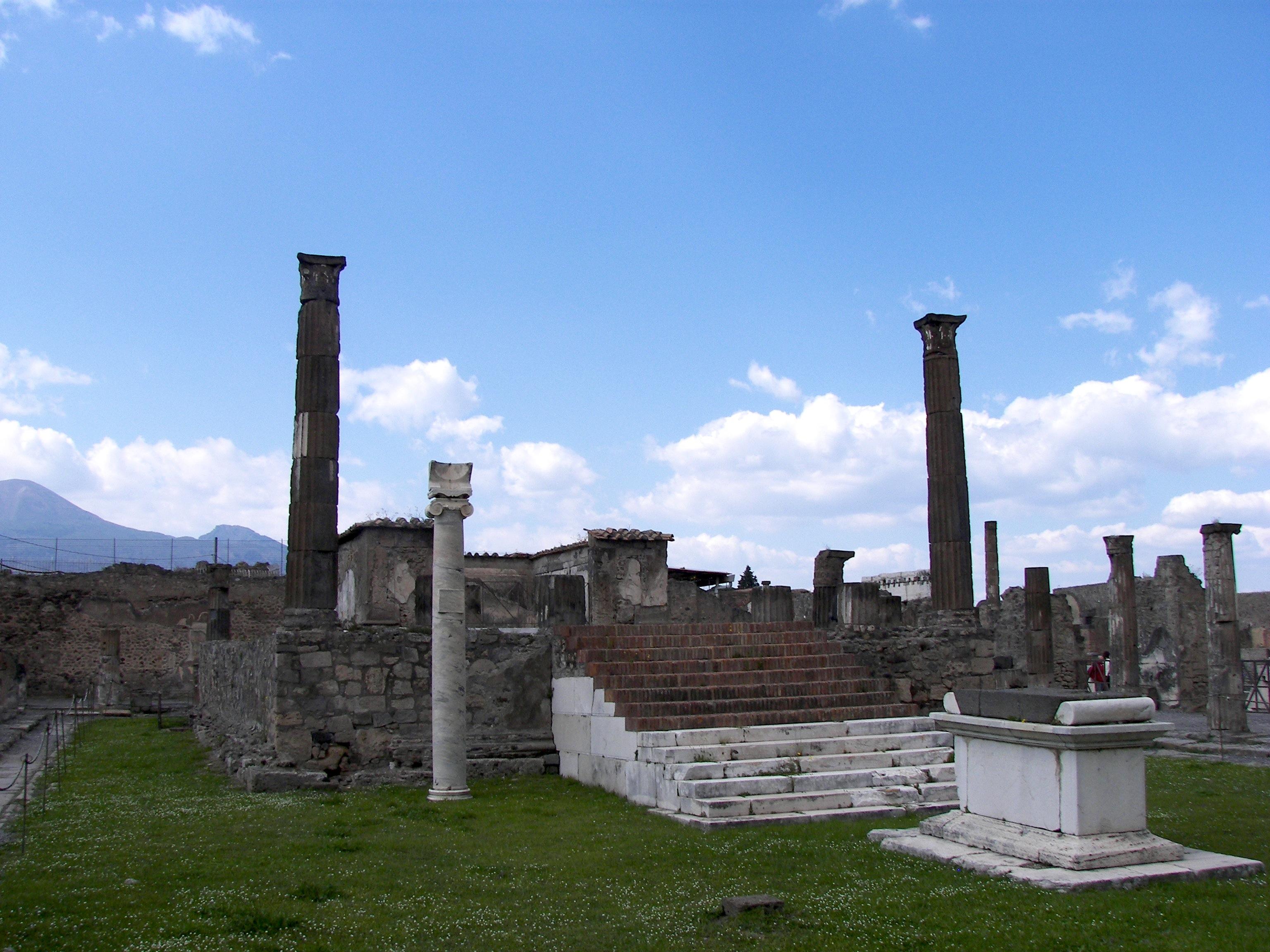Apollonuv Chram Pompeje Wikipedie