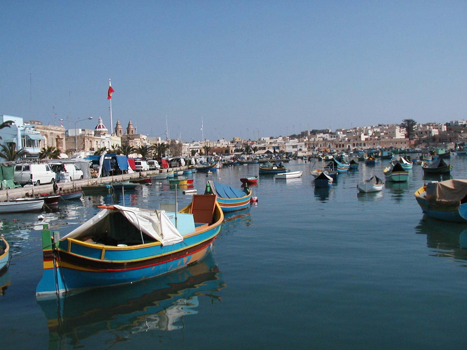 Обои Мальта, malta xlokk, malta, Залив, Marsaxlok, marsaxlokk bay, марсашлокк. Города foto 19