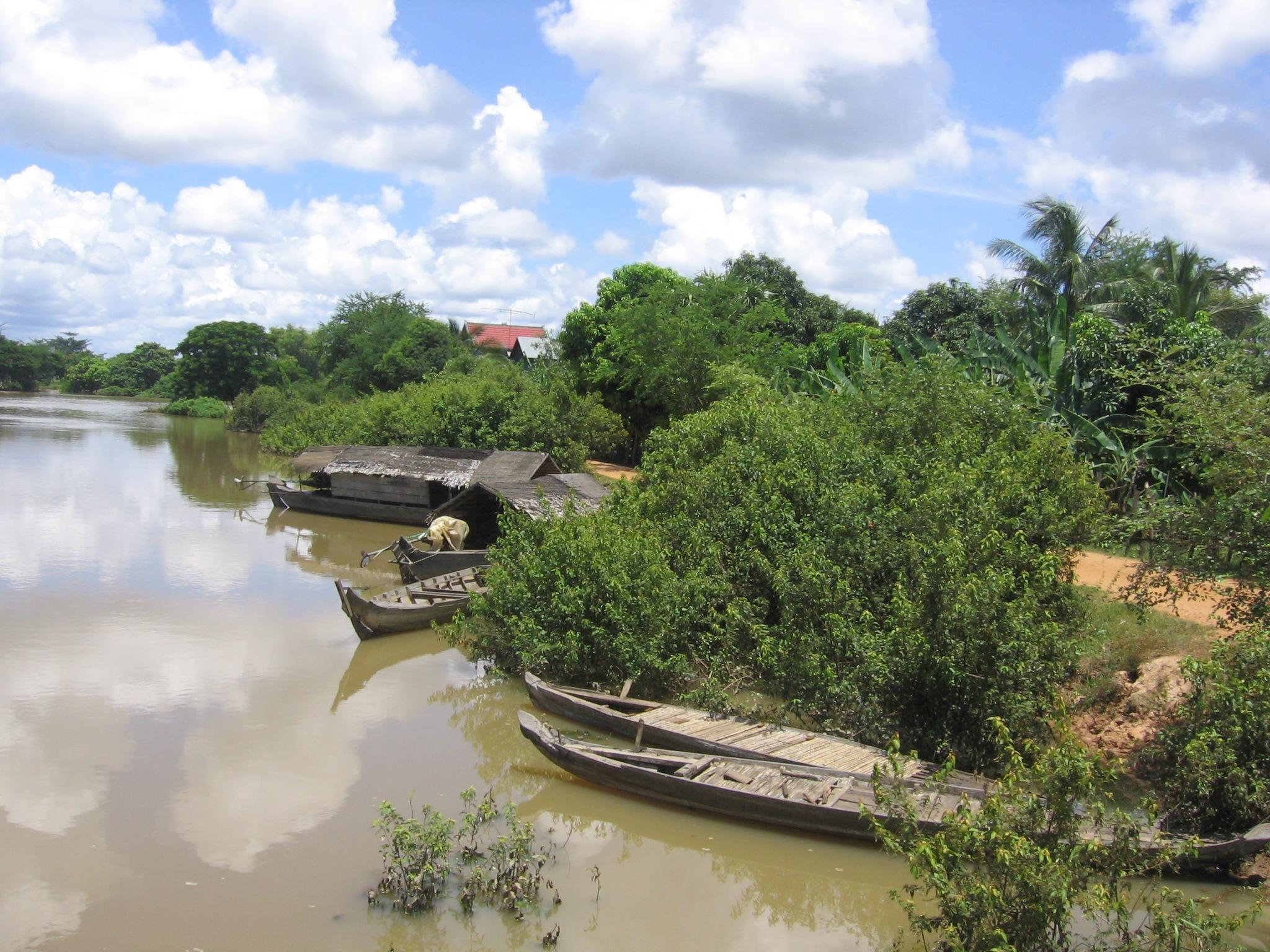 Prek Sbauv, birthplace of Pol Pot.