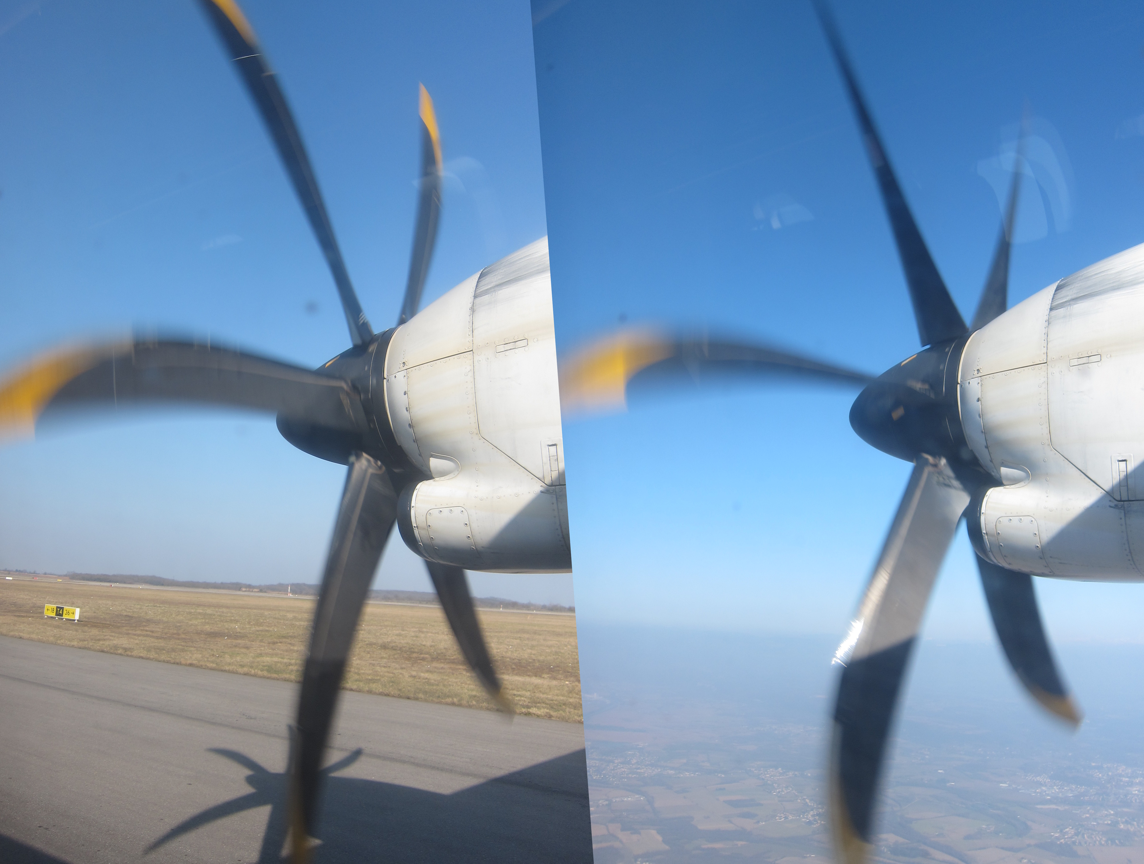 File:Propeller pitch on an ATR 72 jpg - Wikimedia Commons