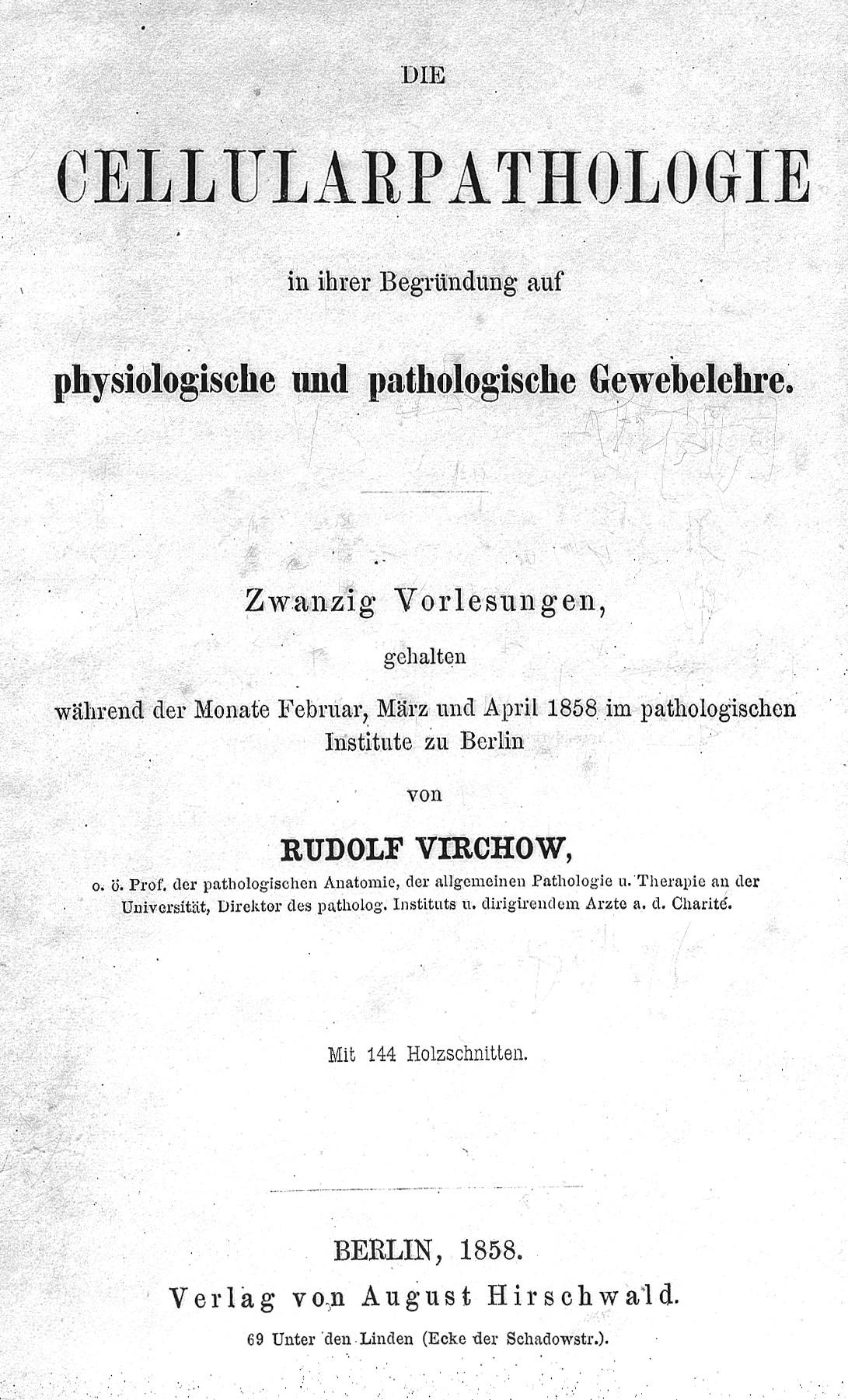 File:R. L. K. Virchow, Die cellularpathologie Wellcome L0013132.jpg ...