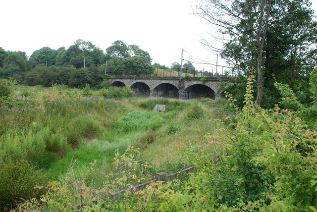 Rail Bridge over the River Trent, Rugeley (geograph 2493973)