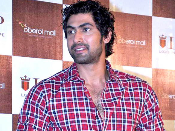 Rana Daggubati at Louis Philippe Speed challenge