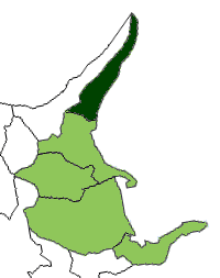 District in Hokkaido, Japan