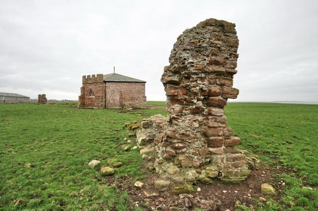 Ruins at Cockersand Abbey - geograph.org.uk - 1188056