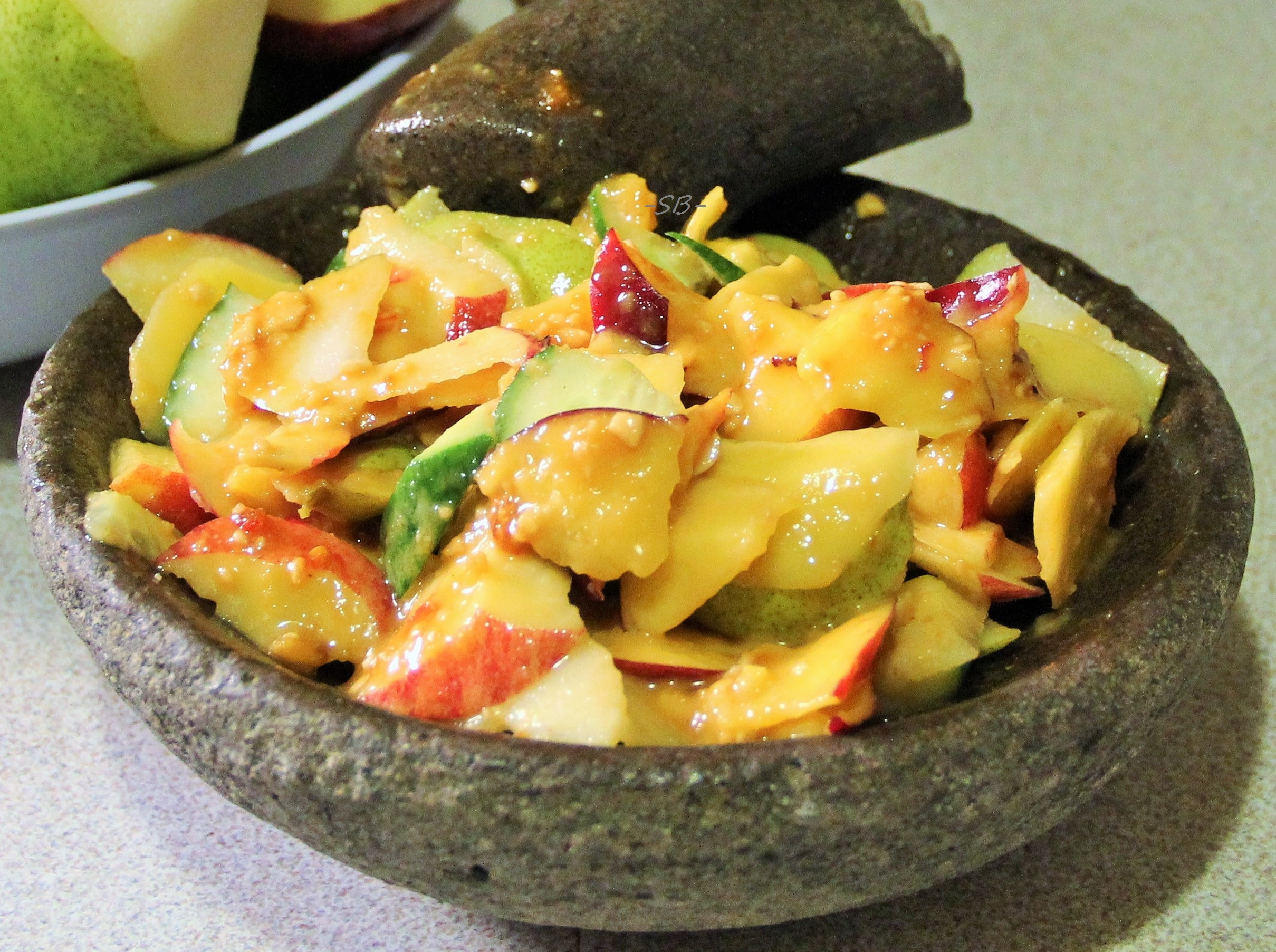 Rujak Buah (Indonesian Fruit Salad).JPG
