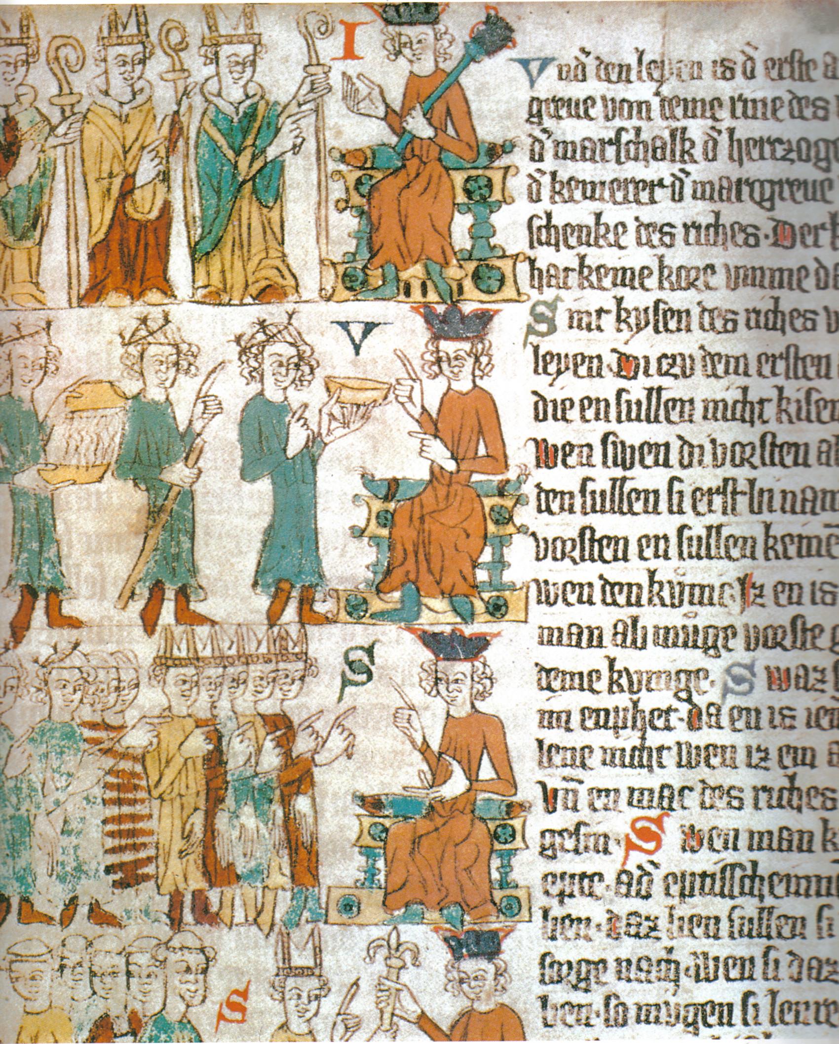 Krönung Der Römisch Deutschen Könige Und Kaiser Wikipedia
