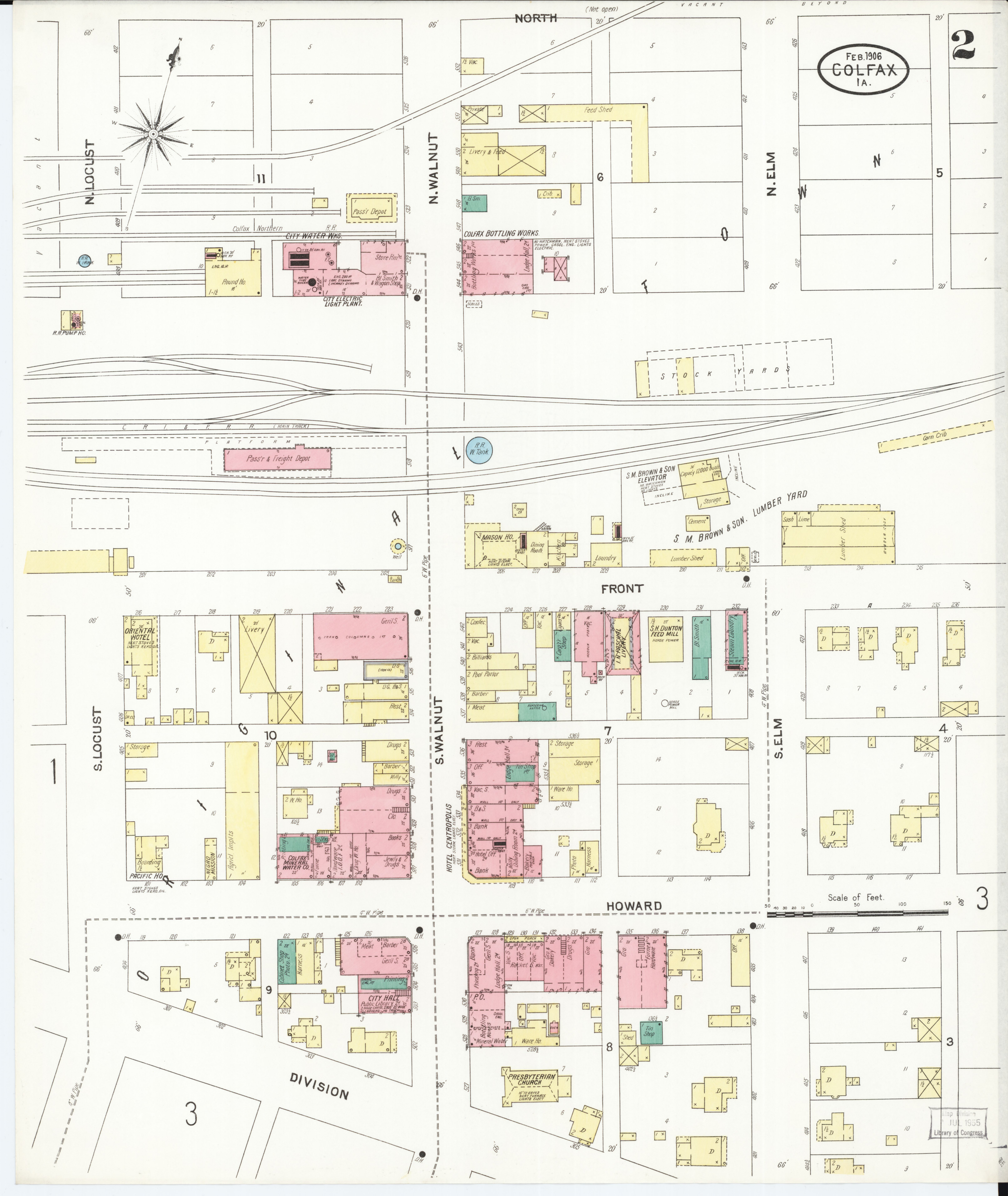 Jasper County Iowa Map.File Sanborn Fire Insurance Map From Colfax Jasper County Iowa