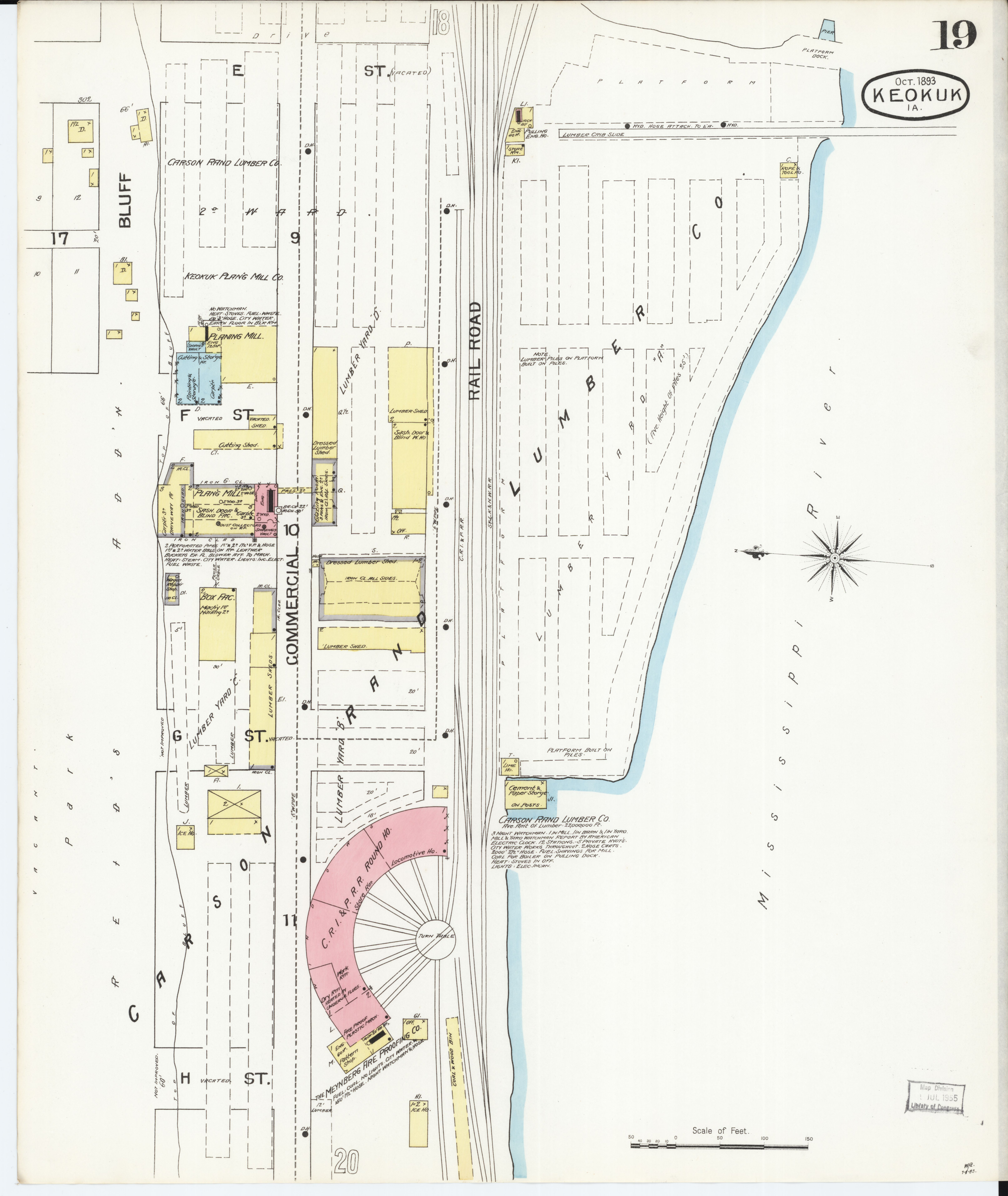 File Sanborn Fire Insurance Map From Keokuk Lee County Iowa Loc