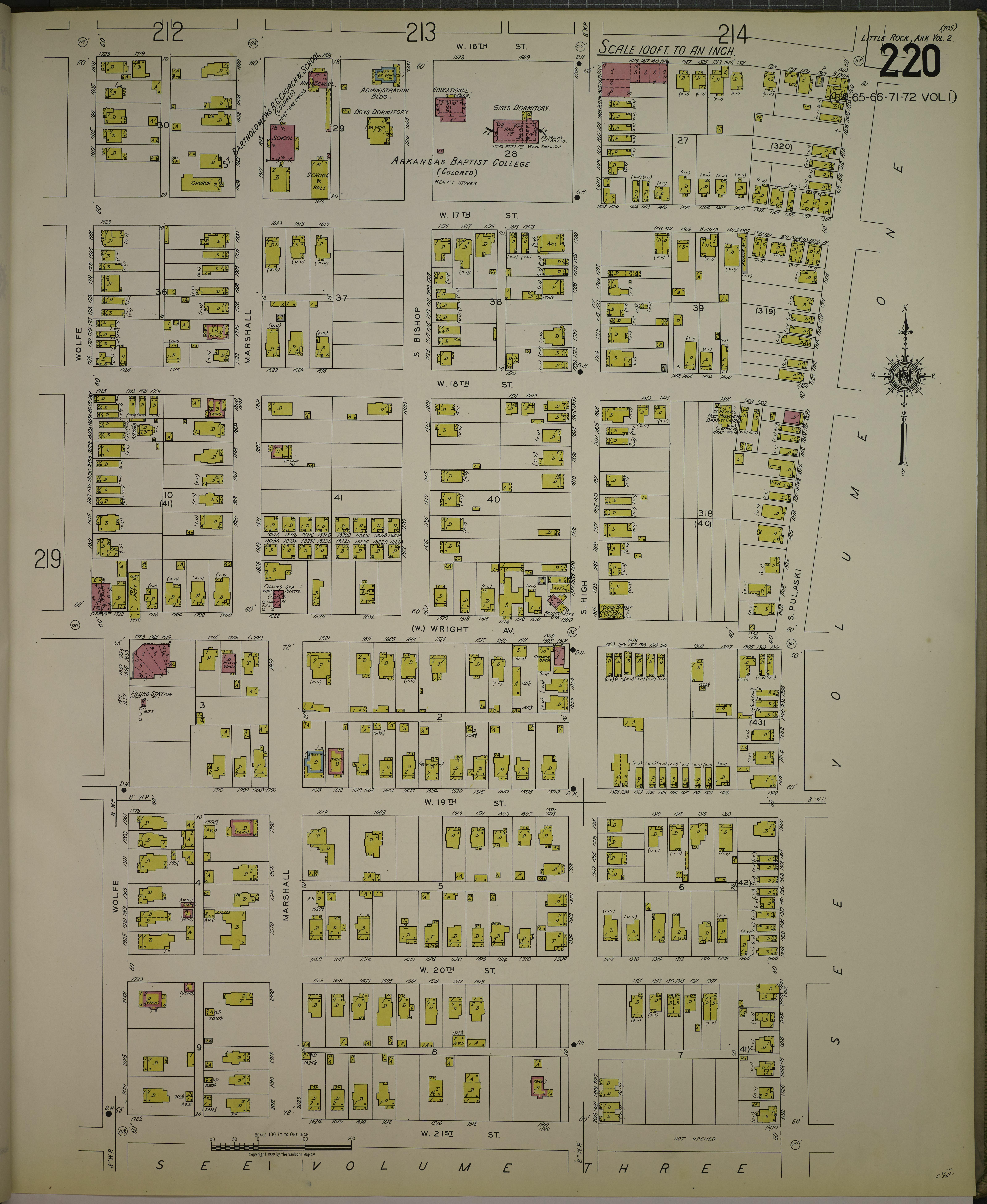 File Sanborn Fire Insurance Map From Little Rock Pulaski County