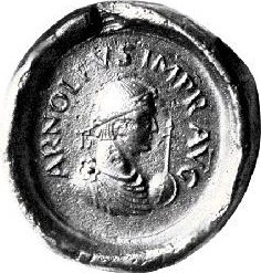 Arnulf of Carinthia 9th century disputed Holy Roman Emperor