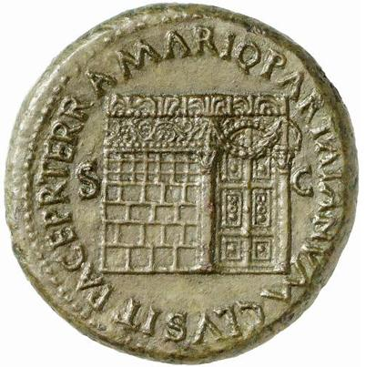 Temple Of Janus Roman Forum Wikipedia