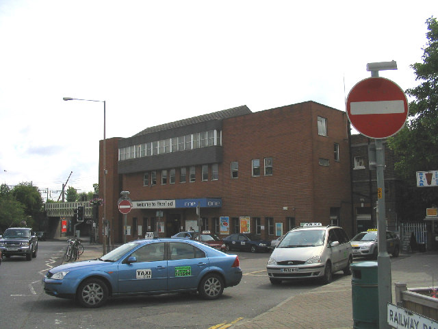 shenfield railway station essex