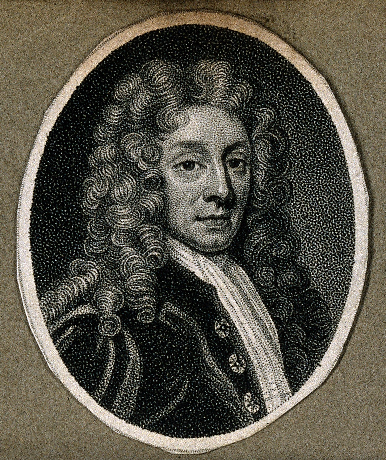 File:Sir Christopher Wren. Line engraving, 1825. Wellcome ...