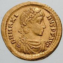 Magnus Maximus Augustus of the Western Roman Empire