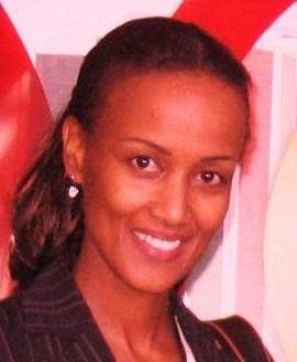 Sophia Bekele at an ICANN meeting
