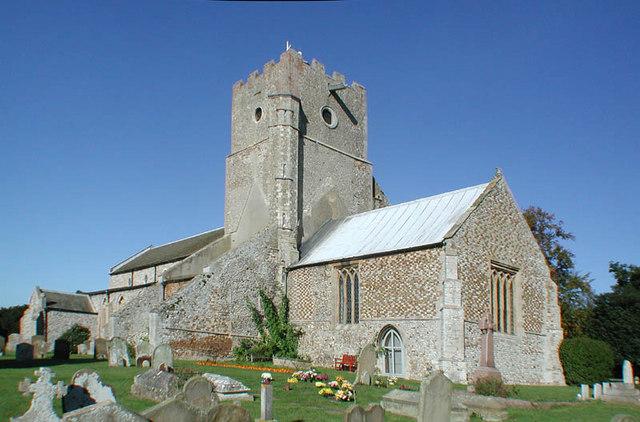 St Mary, Heacham, Norfolk - geograph.org.uk - 310386