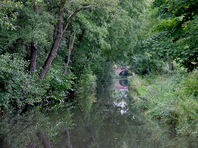 Stratford-upon-Avon Canal at Dickens Heath, Solihull - geograph.org.uk - 1720426