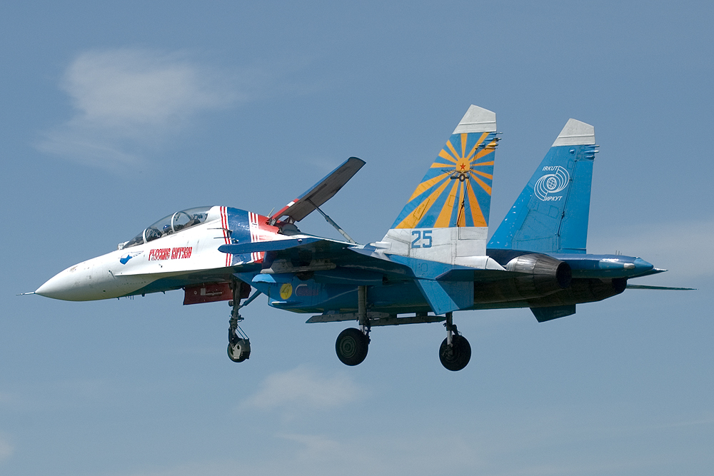 Image result for Su-27UB russian knights