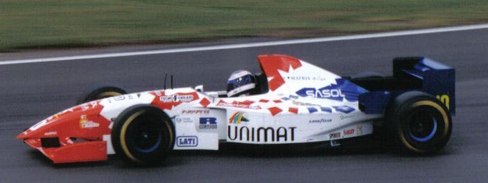 Taki Inoue   Footwork Ford   1995