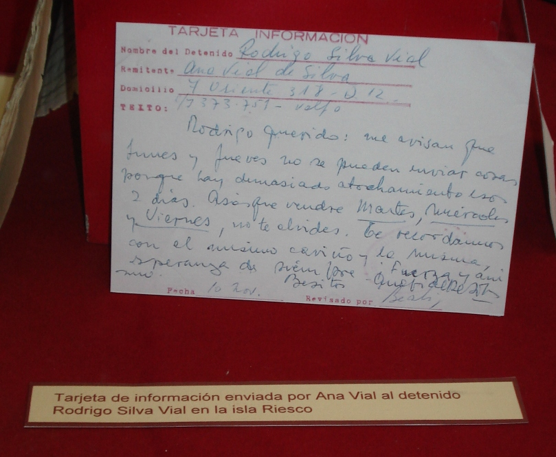Depiction of Detenido desaparecido