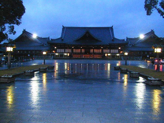 Zentrum der Tenrikyo in Tenri, Nara-Präfektur.