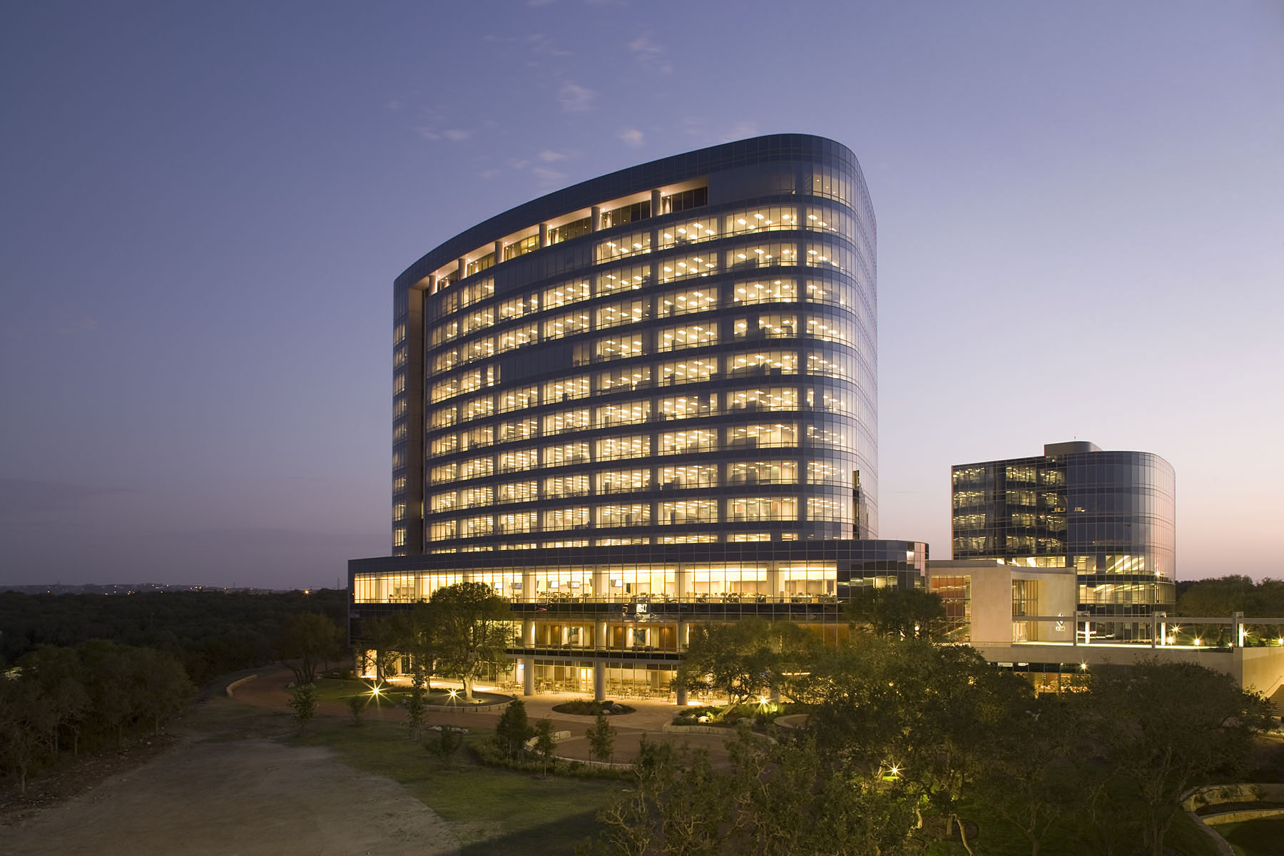 File Tesoro Corporation Headquarters San Antonio Night