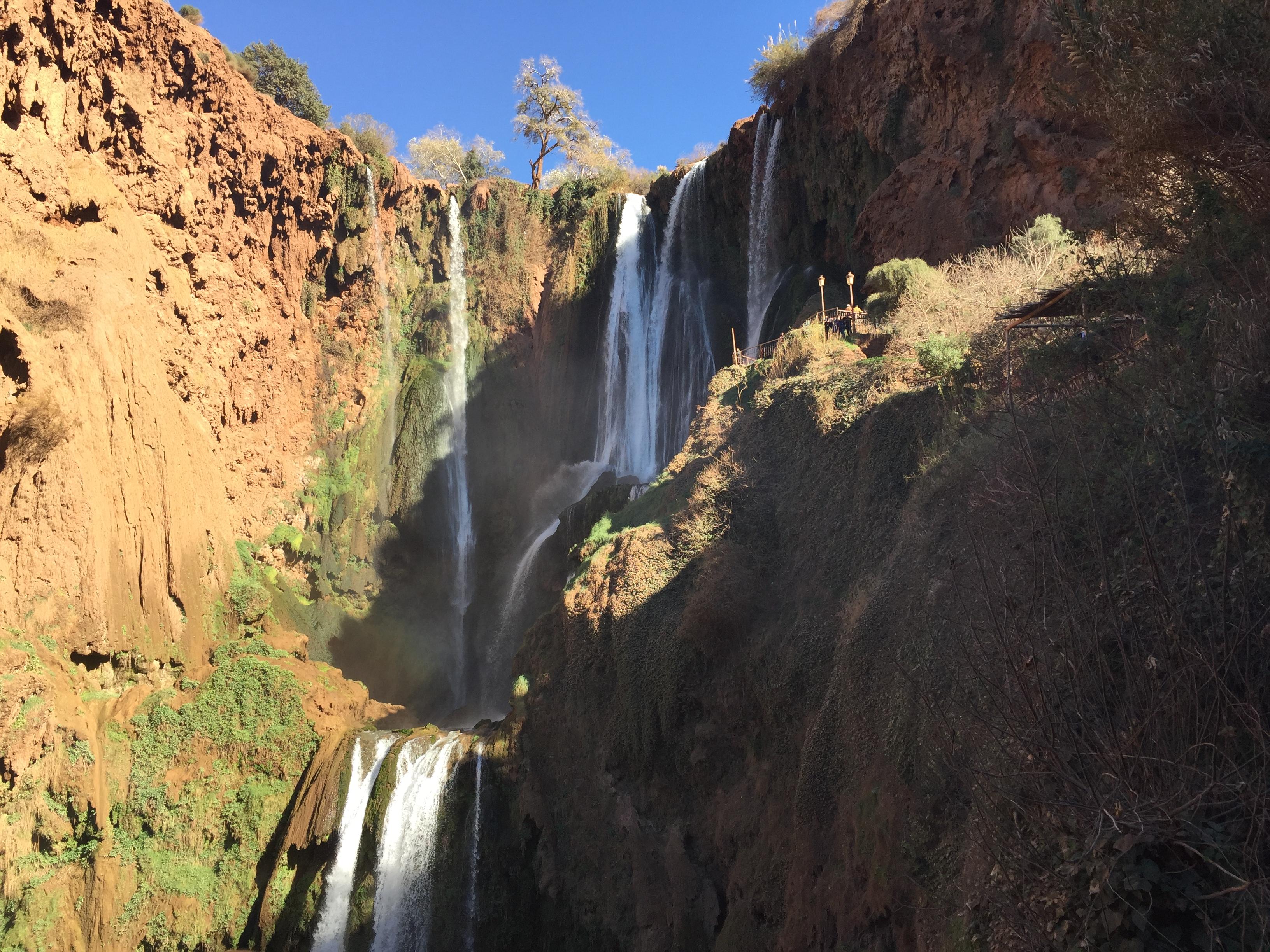 ouzous falls marrakech morocco