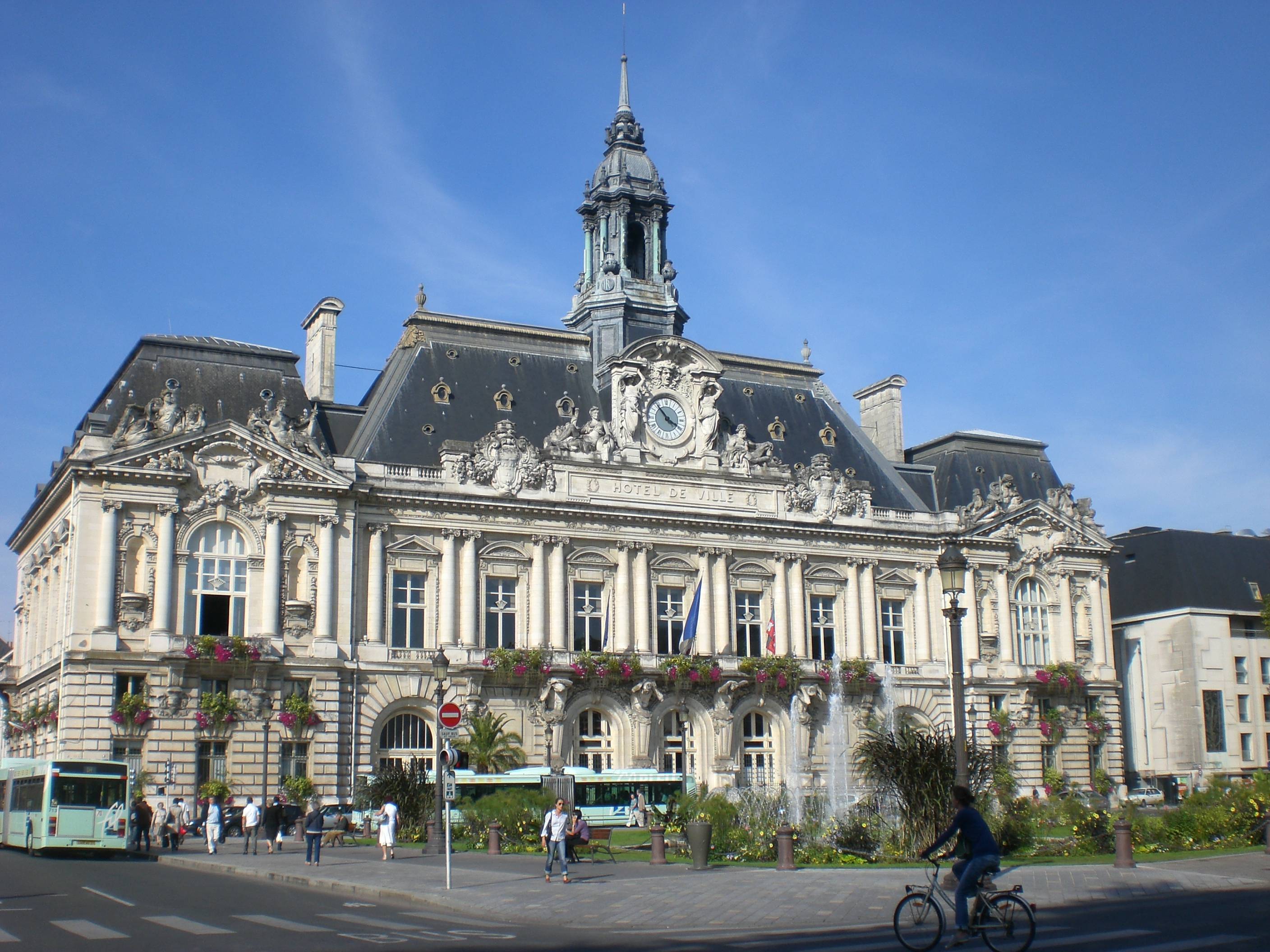 File tours h tel de ville jpg wikimedia commons for Hotel original france