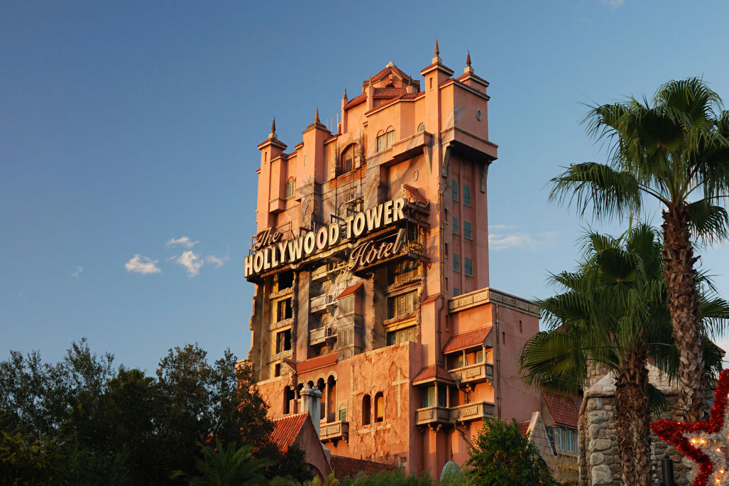 Tower of Terror at Hollywood Studios - Walt Disney World