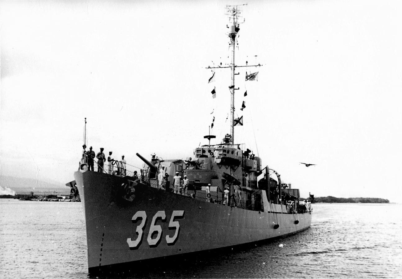USS McGinty (DE-365)
