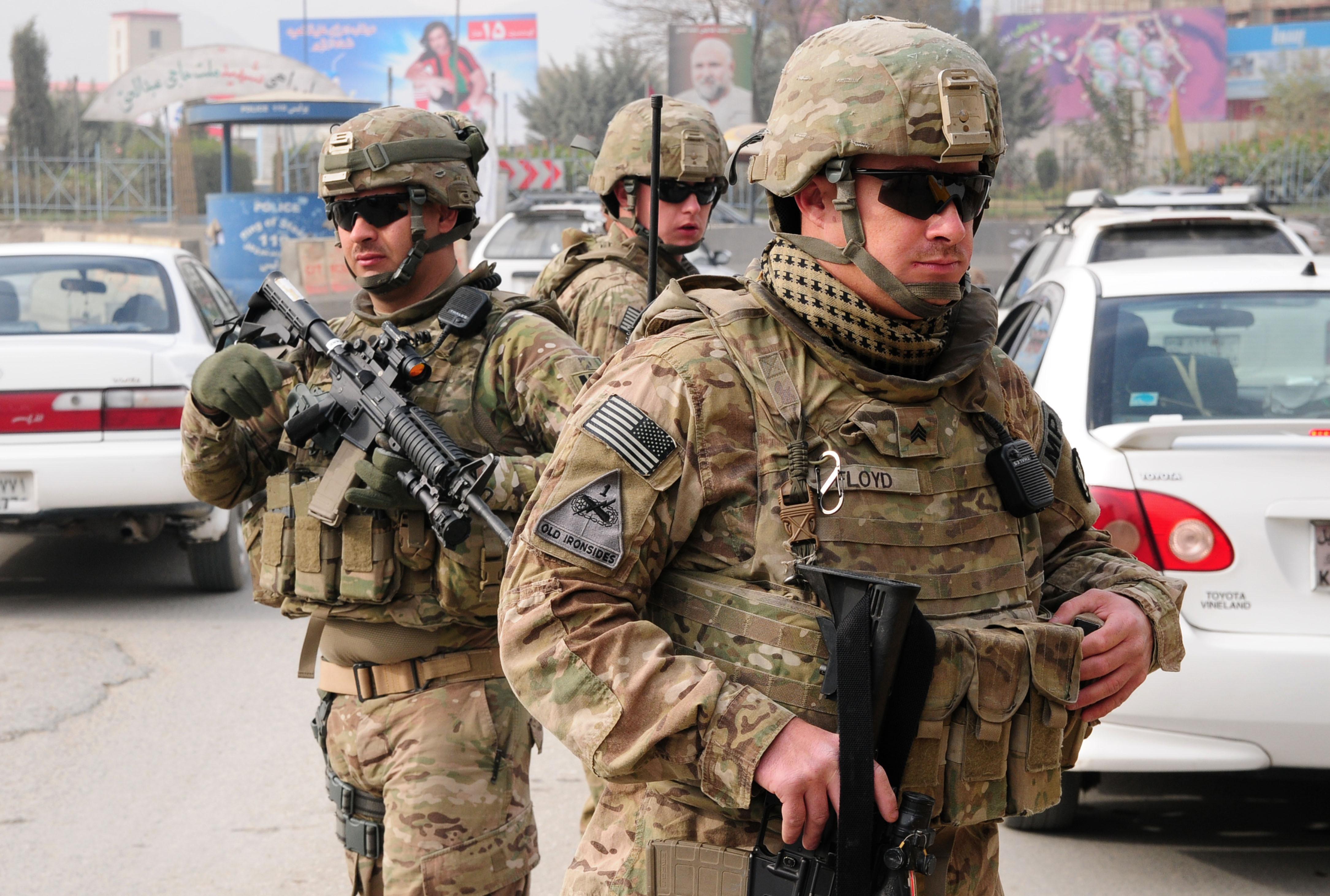 The us troops in afghanistan