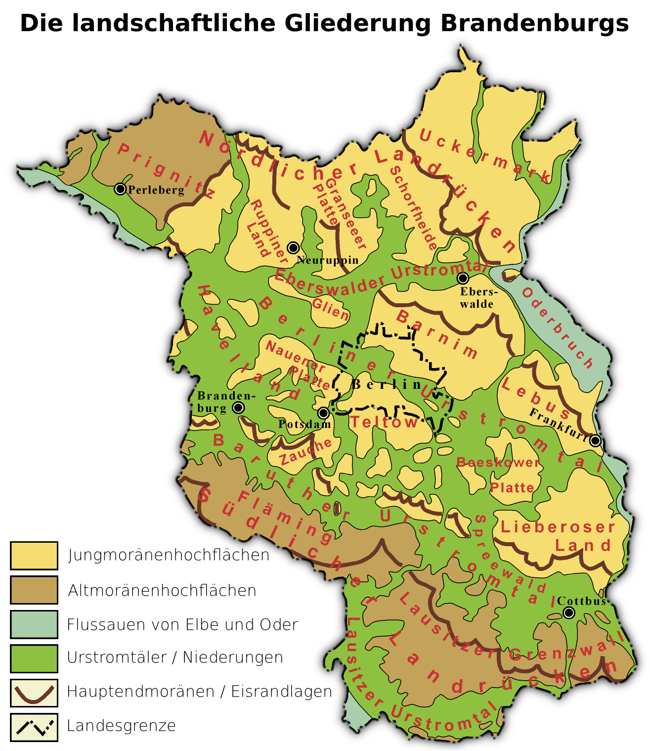 Land Brandenburg Karte.Brandenburg Wikipedia