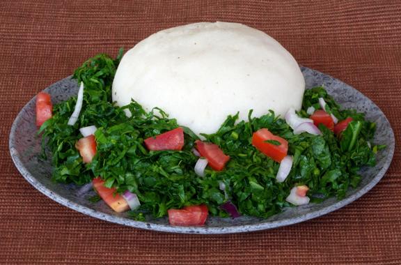Sukuma Wiki (African Braised Kale With Tomatoes) Recipe — Dishmaps