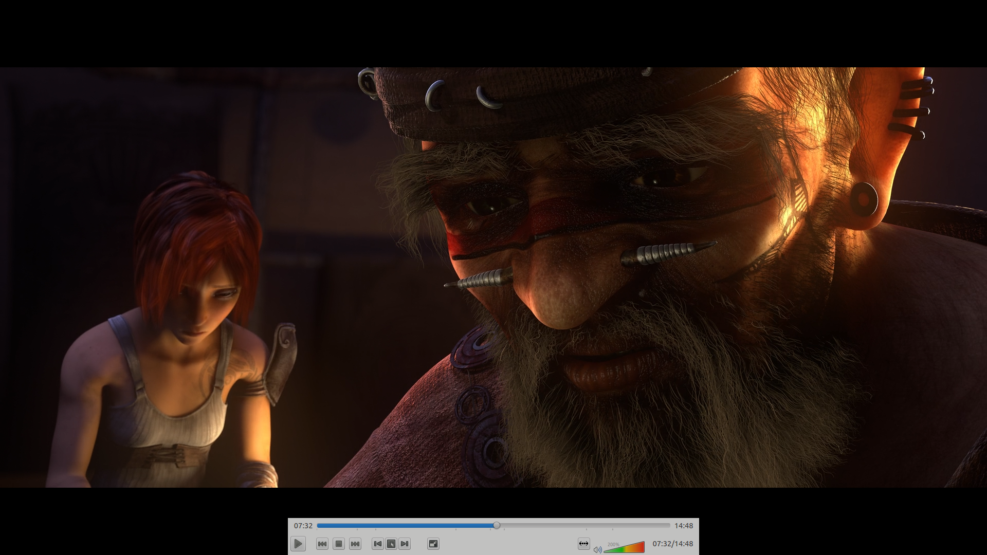 Does anyone know how to enable a floating control bar in VLC