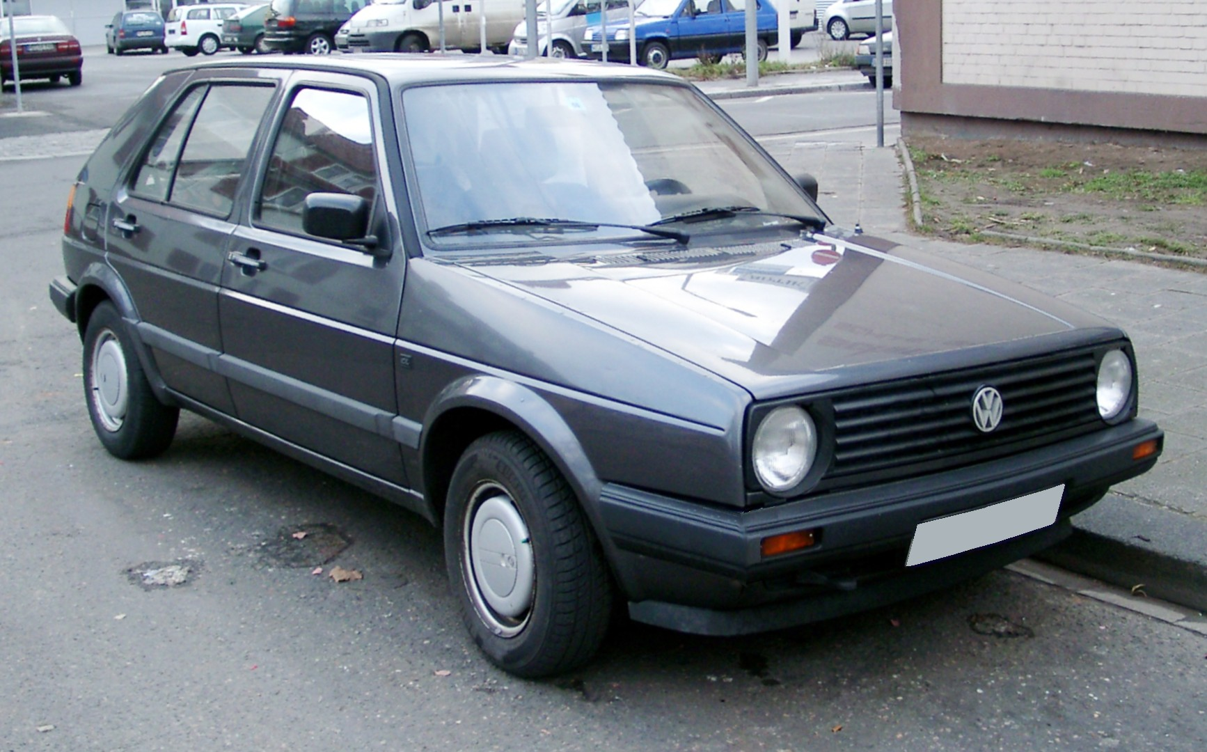 Фото volkswagen golf 2
