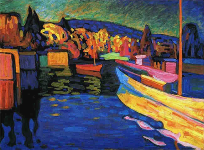 File:Vassily Kandinsky, 1908 - Autumn Landscape with Boats.jpg